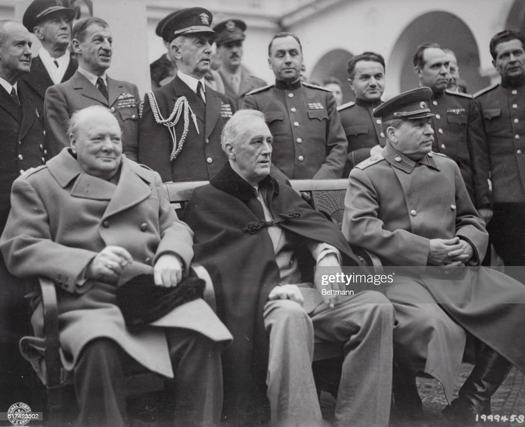 Yalta Conference: a meeting of future winners 77