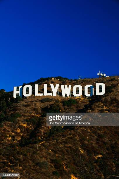 This is the Hollywood Sign in morning light