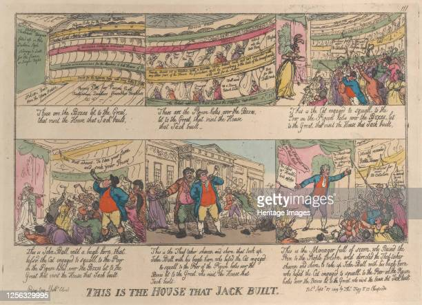 This is the House that Jack Built September 27 1809 Artist Thomas Rowlandson