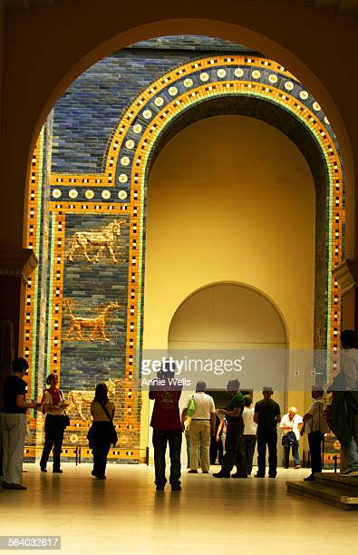 GERMANY – This is The Ishtar Gate of Bablyon The Ishtar Gate one of the eight gates of the inner city of Babylon was built during the reign of...