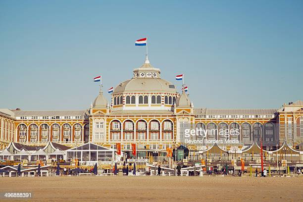 CONTENT] This is the Kurhaus at the beach of Scheveningen just near The Hague It is located right at the beach and a historic sight