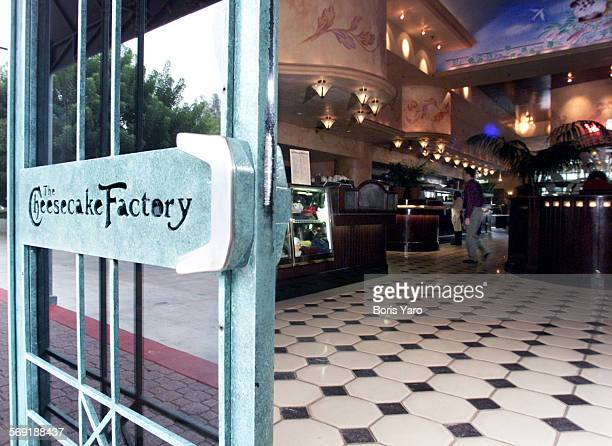 This is the main entrance to The Cheesecake Factory in Woodland Hills