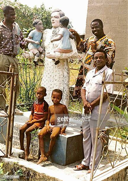 This is the Memorial to Mary Slessor outside her church in Calabar Nigeria It is admired by Nigerian men and children Mary Slessor became...
