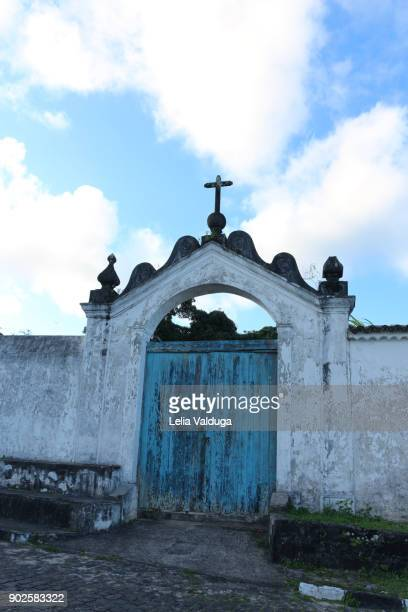 This is the side gate of the Convent of St. Anthony.