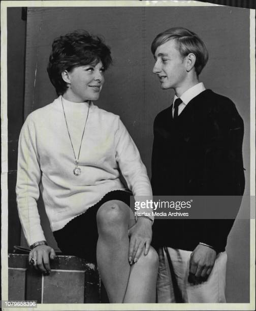 This is the theory of June Thody who is making her first stage appearance for 18 months in 'A Thousand Clowns' at the Independent May 23 1966