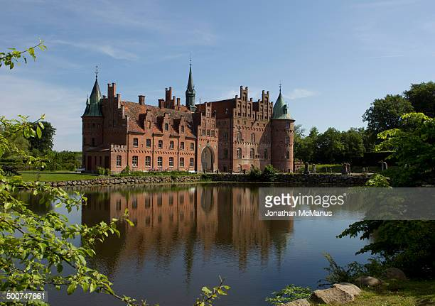 This is the view nearest the entrance to the castle grounds. The castle is viewed from a diagonal across the moat. It dates from 1554 with later...