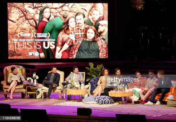 This Is Us cast and executive producers participate in the 20th Century Fox Television and NBC Present This Is Us FYC Event at John Anson Ford...