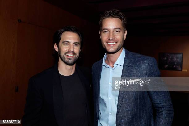 US 'This is Us' Finale Event at The DGA Los Angeles March 14 2017 Pictured Milo Ventimiglia Justin Hartley