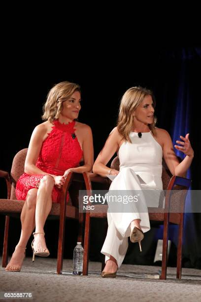 US 'This is Us' Finale Event at The DGA Los Angeles March 14 2017 Pictured Kit Hoover Natalie Morales Moderators