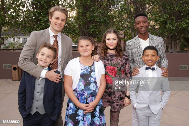 US 'This is Us' Finale Event at The DGA Los Angeles March 14 2017 Pictured Parker Bates Logan Shroyer Mackenzie Hancsicsak Hannah Zeile Niles Fitch...