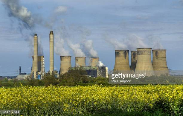 CONTENT] This is West Burton power station one of four large coal fired energy plants along the river Trent in Nottinghamshire although High Marnham...