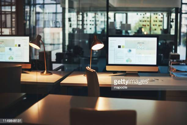 this is what you call a productive space - desk stock pictures, royalty-free photos & images