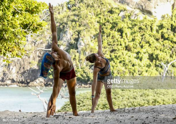 'This is Why You Play Survivor' Devon Pinto and Ashley Nolan on the sixth episode of SURVIVOR 35 themed Heroes vs Healers vs Hustlers airing...