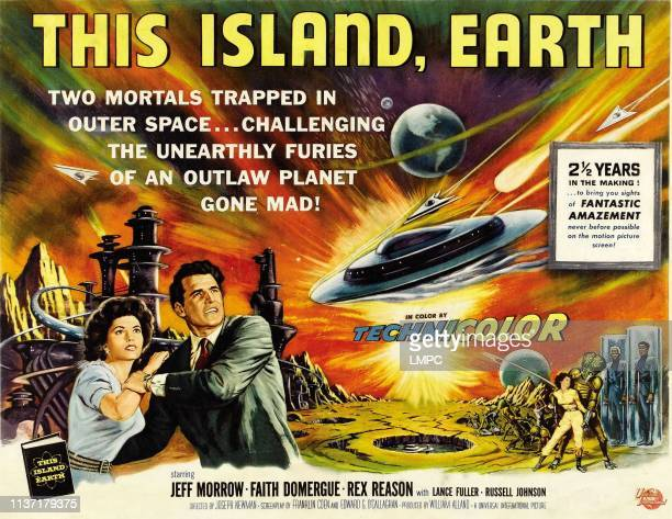 This Island Earth poster Faith Domergue Rex Reason 1955