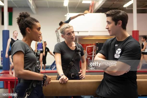 FIRE 'This Isn't Charity' Episode 704 Pictured Annie Ilonzeh as Emily Foster Kara Killmer as Sylvie Brett Jeff Kurysz as Coach Dorman