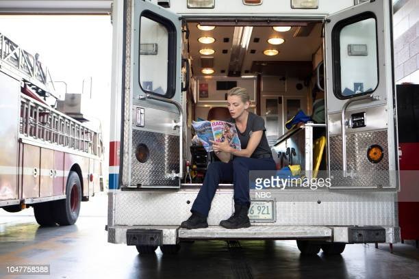 FIRE 'This Isn't Charity' Episode 704 Pictured Kara Killmer as Sylvie Brett