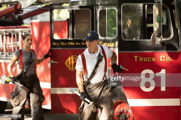 FIRE 'This Isn't Charity' Episode 704 Pictured Miranda Rae Mayo as Stella Kidd Jesse Spencer as Matthew Casey