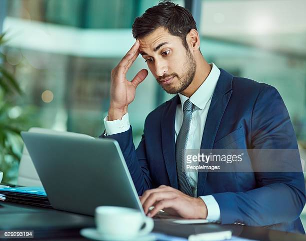 this isn't good... - confusion stock photos and pictures