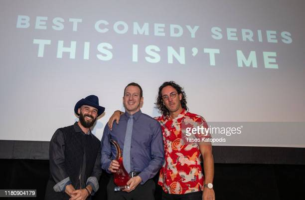 """This Isn't Me"" wins Best Comedy Seriesat the Catalyst Content Awards Gala on October 13 2019 in Duluth Minnesota"