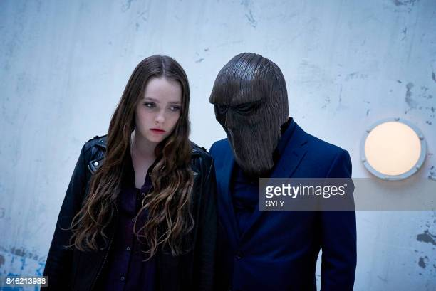 HOUSE 'This Isn't Real' Episode 107 Pictured Amy Forsyth as Margot The Masked Figure
