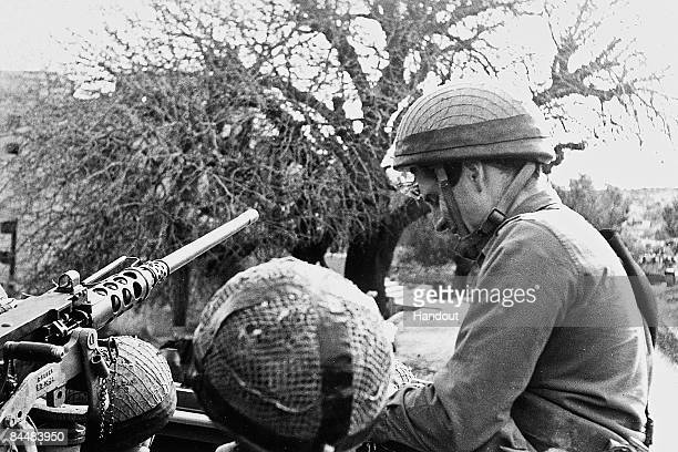 This Israeli Government Press Office file photo first made available on November 1, 1971 shows Benjamin Netanyahu as a member of the Israeli army's...