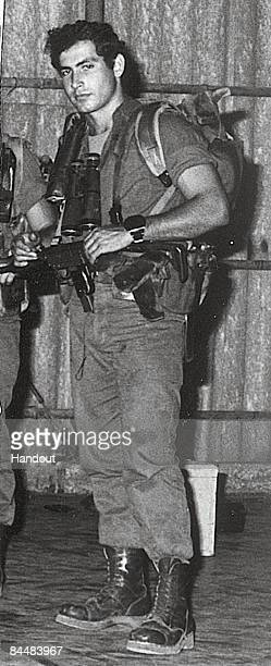 This Israeli Government Press Office file photo first made available on June 10, 1973 shows Benjamin Netanyahu as a member of the Israeli army's...