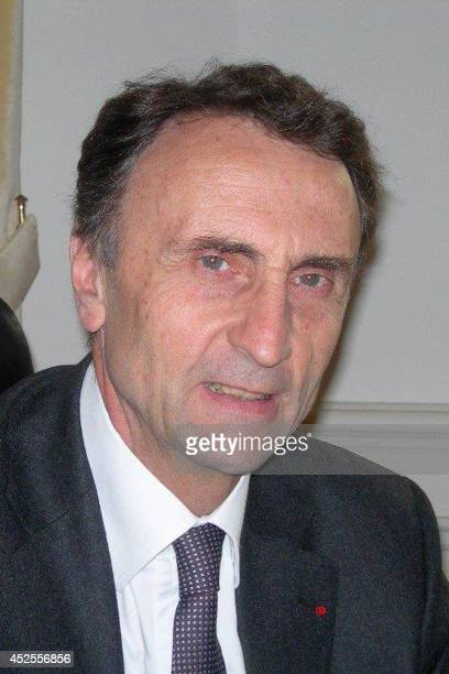 This June 2013 handout photo released on July 23, 2014 by the Haut-Rhin prefecture shows the current prefect of the Haut-Rhin department in...