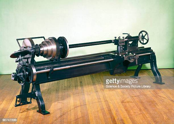 This lathe built by Richard Roberts has a selfacting saddle which slides directly upon the lathe bed and is able to traverse its whole length It also...
