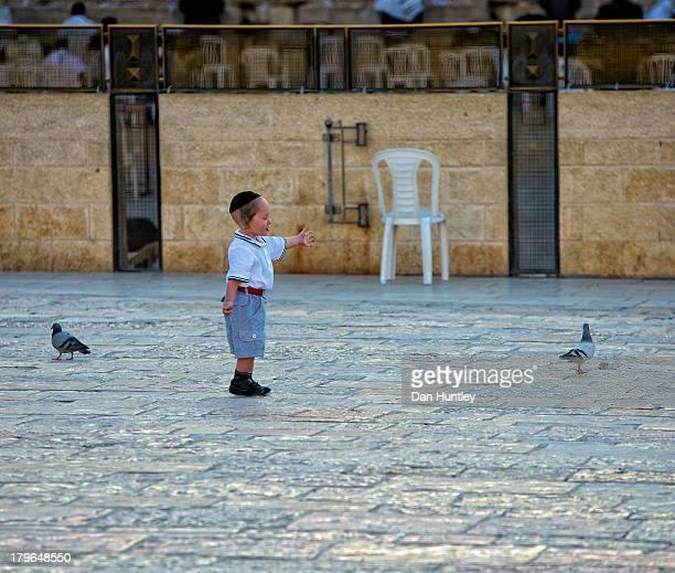 CONTENT] This little boy was having a fun time trying to catch the pigeons This was shot outside of the Western Wall Western Wall | Jerusalem Israel