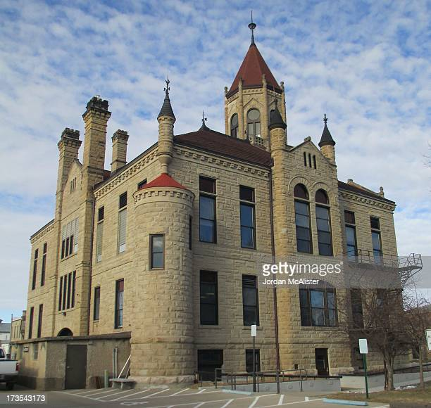 This lovely structure was designed by the architectural firm of Foster & Liebbe. It was completed in 1892. Iowa County is one of only a handful of...