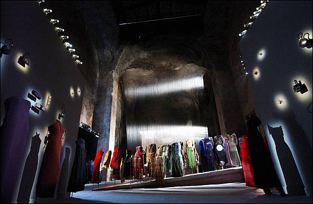 Exhibition  Giorgio Armani  Retrospective opens in Rome, Italy at the  National Museum of 879a16a4290