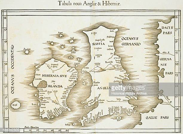 'This map was based on information in geographer Claudius Ptolemy's Geographia from the 2nd century AD '