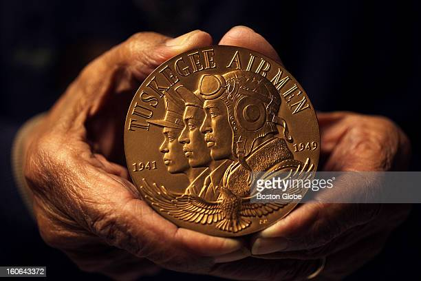 This medal was received during a Congressional Gold Medal Award Ceremony in the Capitol on March 29 2007 Eugene Jackson was a mechanic with the...