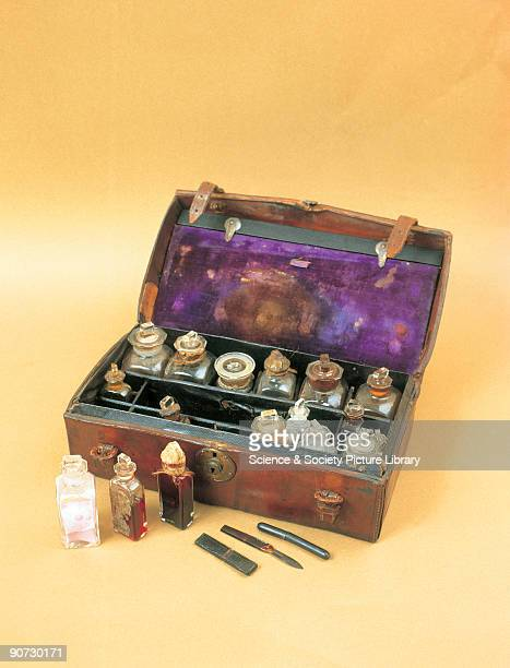 This medicine chest belonged to Dr David Livingstone It was last used on the journey to bring his body to Westminster Abbey for burial Includes drugs...