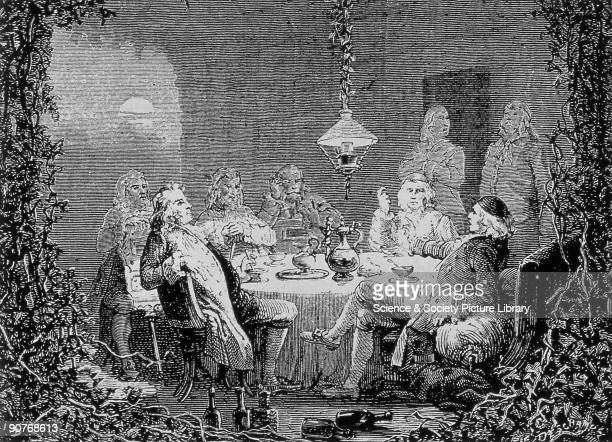 This meeting took place in the house of inventor James Watt The Lunar Society began in 1765 and was made up of learned men of the time great thinkers...