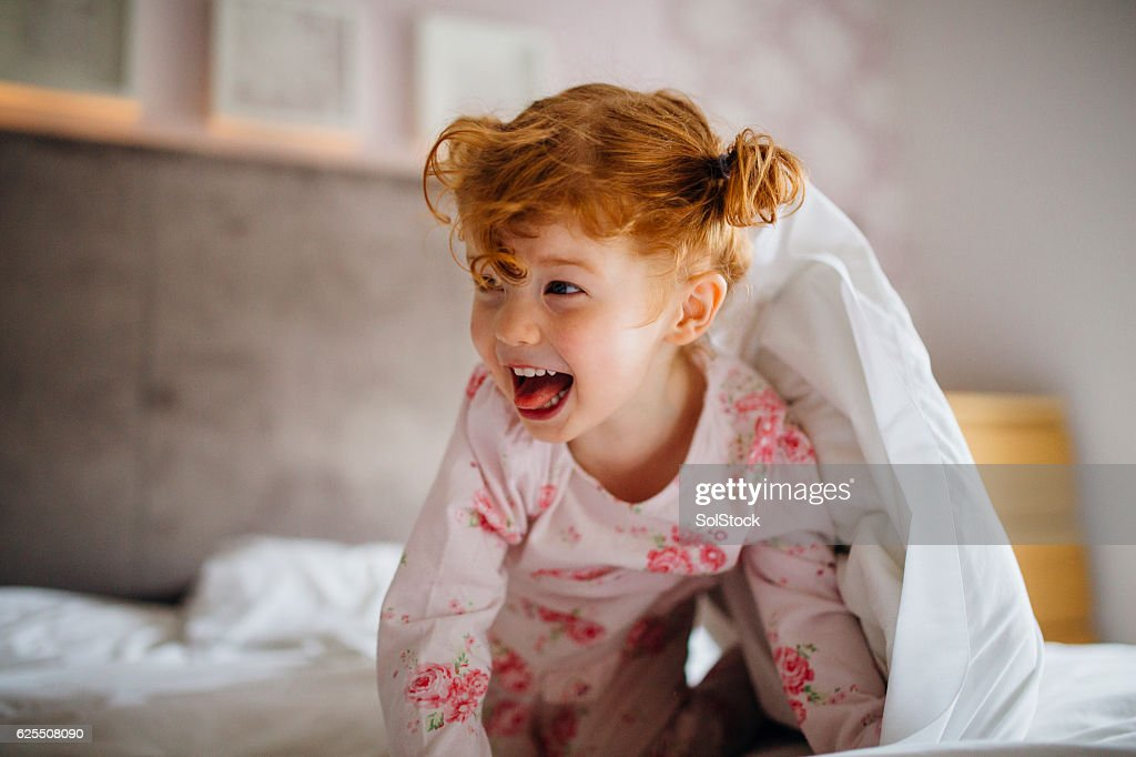 This Monster Doesn't Live Under the Bed : Stock Photo