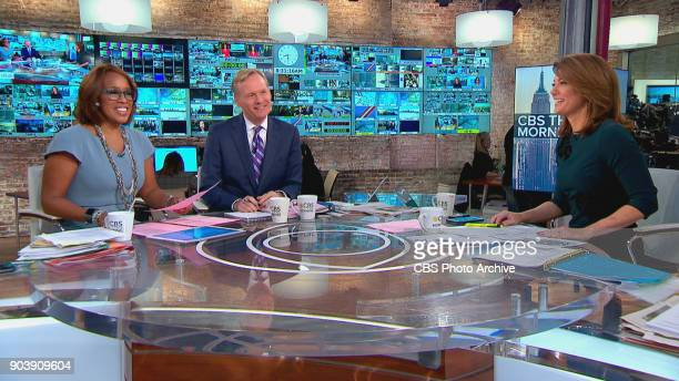 This Morning CoHosts Gayle King and Norah O'Donnell with new CoHost John Dickeson Image is a screengrab