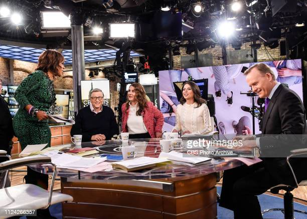 This Morning CoHosts Gayle King Bianna Golodryga and John Dickerson interview Bill and Melinda Gates LIVE on Feb 12 2019