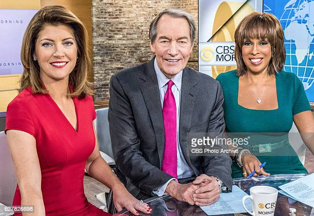This Morning: Norah O'Donnell, Charlie Rose and Gayle King.