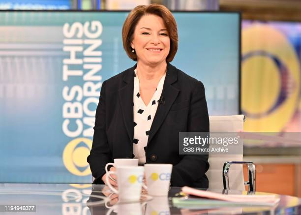 This Morning with CoHost Tony Dokoupil interviews 2020 Democratic Presidential Candidate Amy Klobuchar LIVE on CBS This Morning January 17th 2020