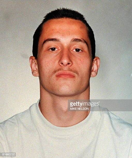 This mugshot released by the Los Angeles Police Deparment 13 March is of Mikhail Michael Markhasev who has been charged with the murder of Ennis...