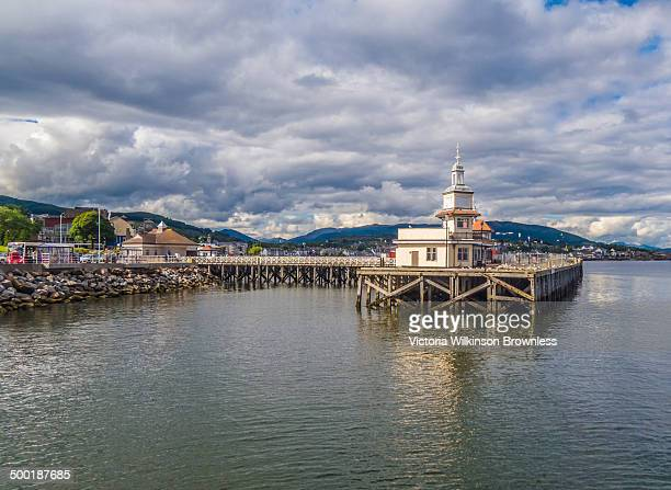 This old Victorian Pier is scheduled for demolition because it is deemed unsafe. It used to be the terminus for the Calmac car ferry from Gourock....