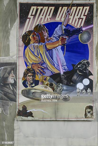 This original poster art of 'Star Wars' will sell for between $200000 and $250000 when auctioned on December 10 by Profiles In History via live and...