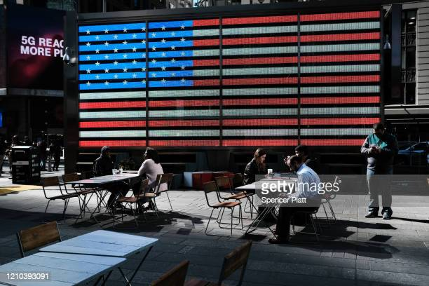 This outdoor space is sparsely populated as fears of the coronavirus spreading through the US increase on March 04 2020 in New York City Travel...