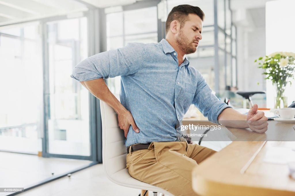 This pain is becoming far too unbearable : Stock Photo
