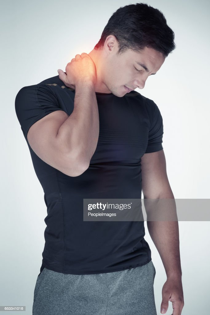 This pain is such a discomfort : Stock Photo
