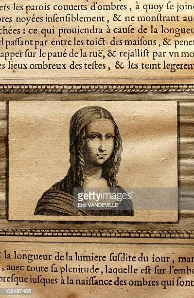 This painting treatise contains the very first reproduction of Mona Lisa drawn by Poussin' The burial place of Leonardo Da Vinci's Mona Lisa located...