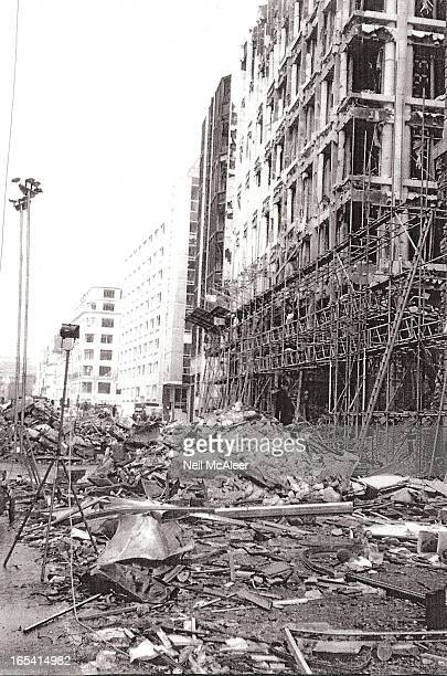CONTENT] This photo is taken in the days after the 1993 IRA bomb in Bishopsgate in the City of London This caused extensive damage with major...