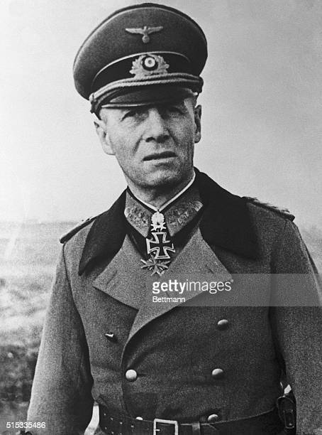 This photo obtained through a neutral source is the most recent and best closeup of Field Marshal Erwin Rommel who will probably be in supreme...