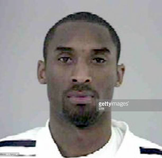 This photo released 11 July 2003 by the Office of the Sheriff of Eagle County in Colorado shows Los Angeles Lakers basketball player Kobe Bryant...